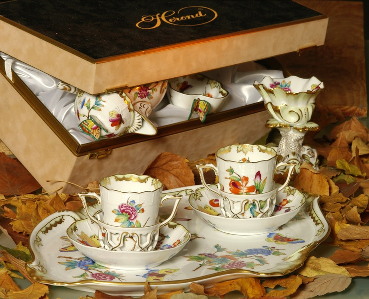 Herend Queen Victoria Tea set