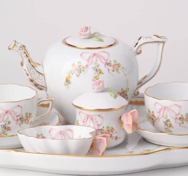 Herend Porcelain Tea Set EDENP