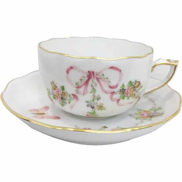 eden-pink-fine-china-teacup and saucer