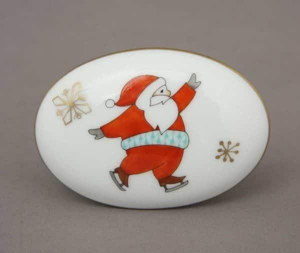 Small Box Skating Santa - Christmas Edition