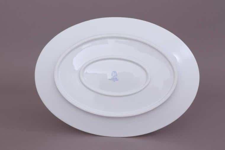 02102-0-00 VHNKN Oval Dish - Art Deco Fishnet Black1