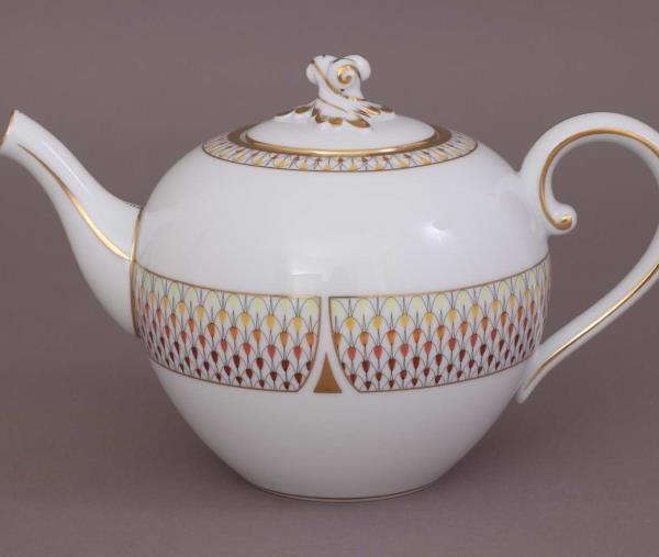 Herend Teapot ARt Deco Multicolor 02604-0-06 VHNKVT4