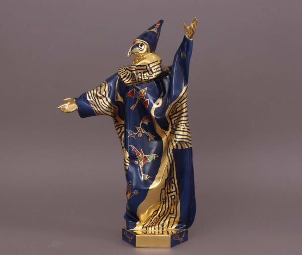 Herend Schrammel Carnival Figurine in Mask Limited Edition