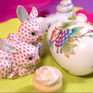 Herend-Porcelain-Easter-Bunny