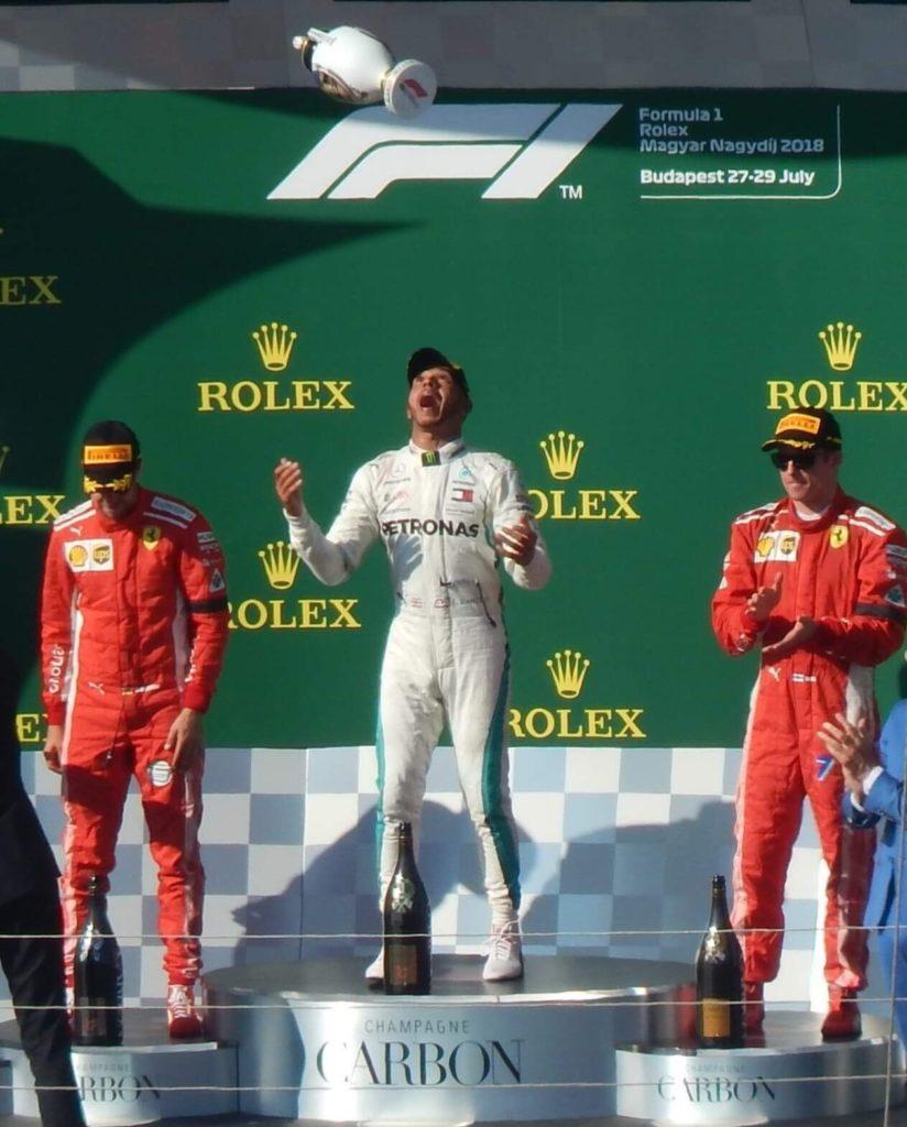 Herend Lewis Hamilton Formula 1 Herend