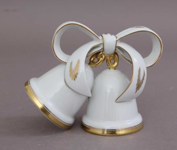 16103-0-00 HD Herend White-Gold-Wedding-Bell
