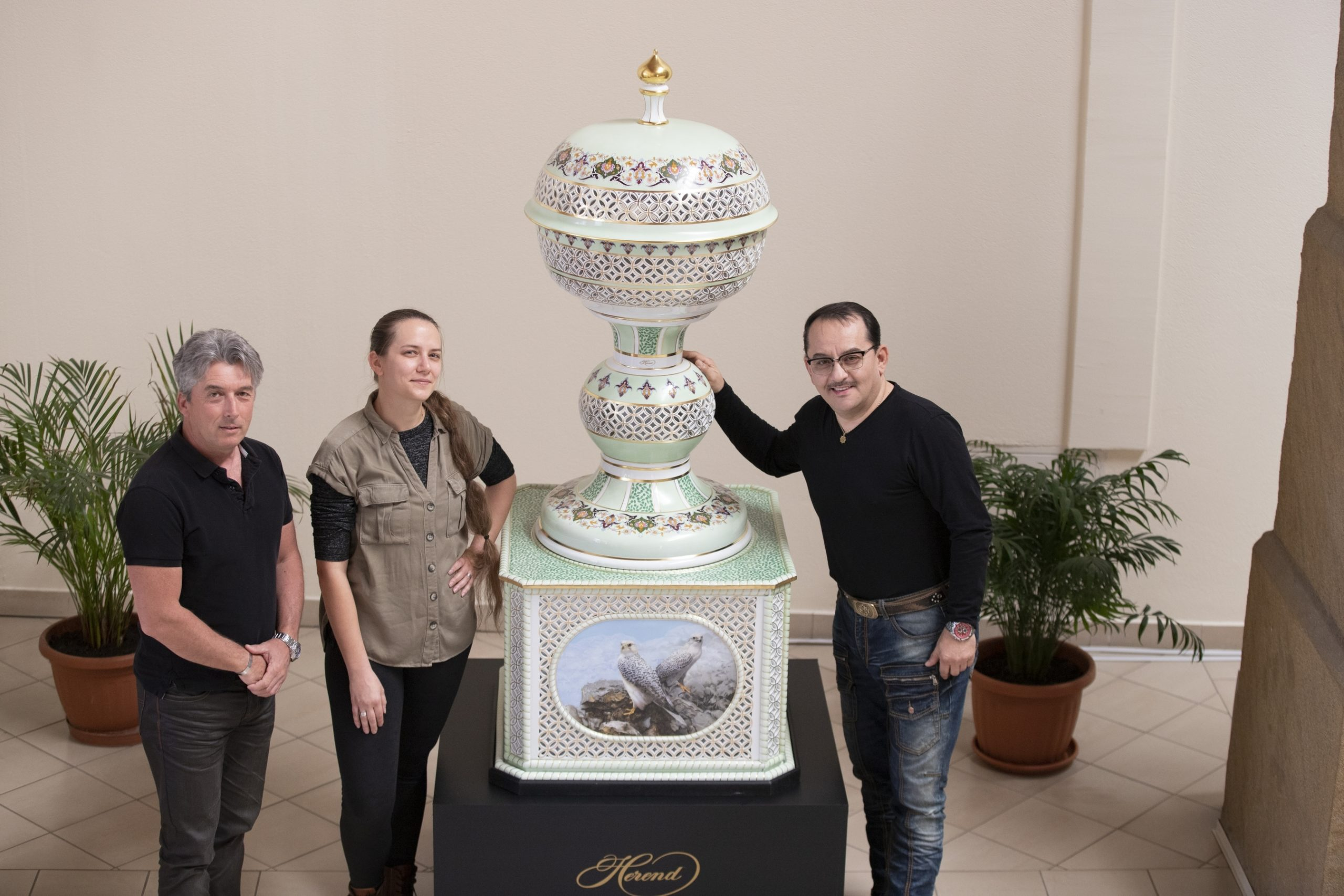 Herend-Porcelain-Fountain-Masterpiece