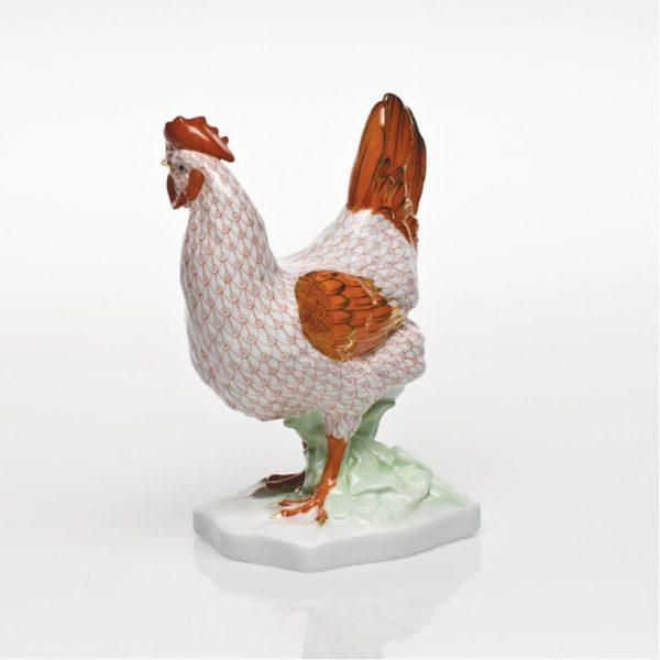 Herend Reserve Swirl Hen