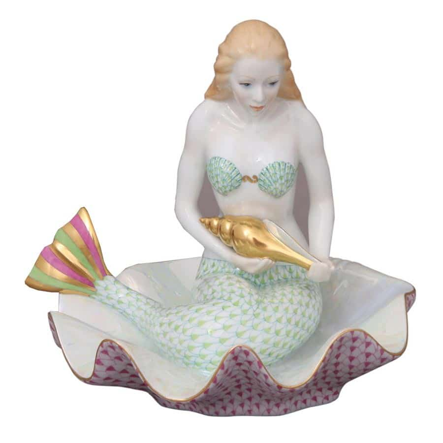 12123-Mermaid-on-shell-Limited-Edition-250-pcs