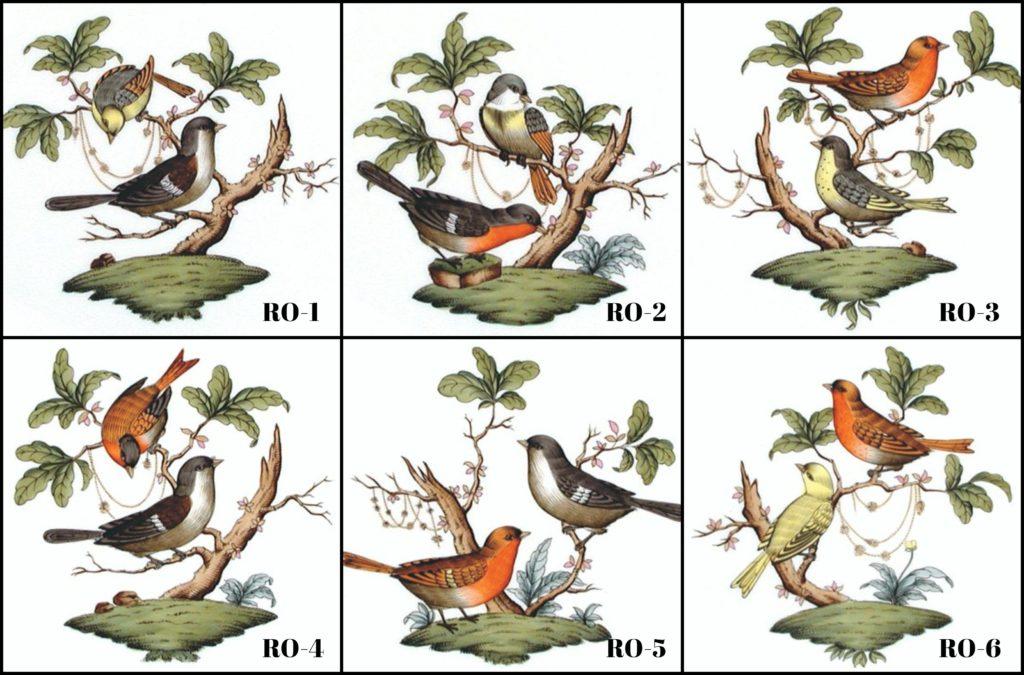 Herend-Porcelain-Rothschild-Bird-Motifs