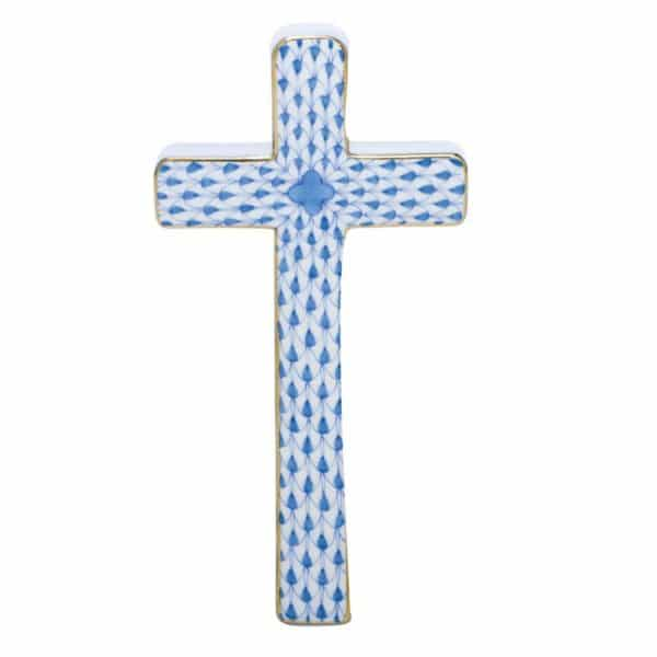 herend+cross,+blue