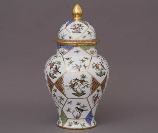 Herend-Rothschild-Bird-Anniversary-Vase