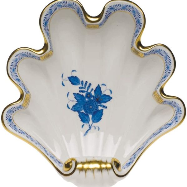 Herend-Chinese-Bouquet-Blue-Shell