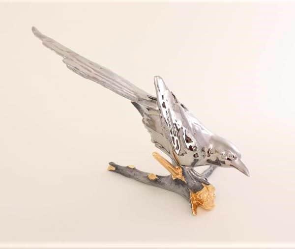 Herend-Magpie-Platinum
