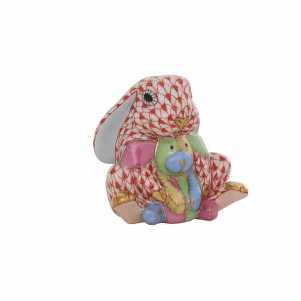 Herend+Bunny+Lovey+Figurine