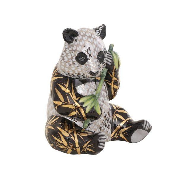 16134VHSP141A-Herend-Panda-Bear-Limited