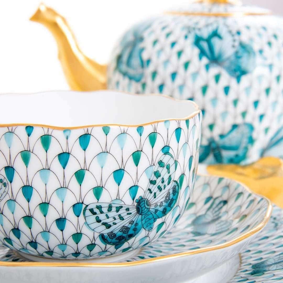 Herend-Felicity-Blue-Limited-Tea-Set-2