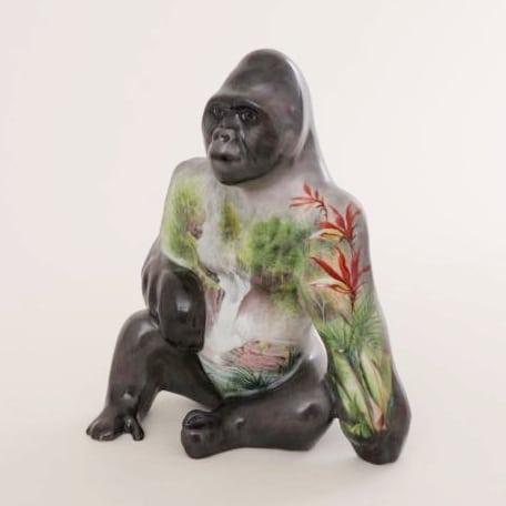 Herend-Gorilla-Figurine-16156-0-00 SP773