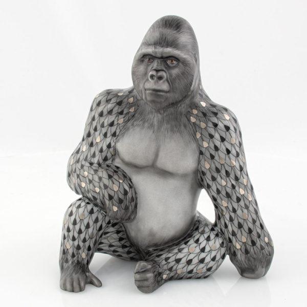 Herend-Gorilla-Silverbak-16156-Reserve