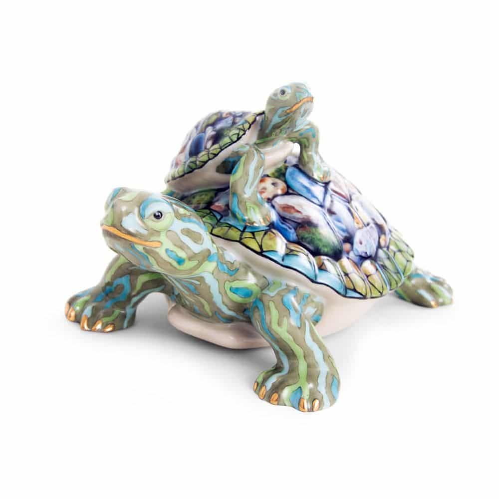 Herend-Porcelain-Turtle-15837-SP772