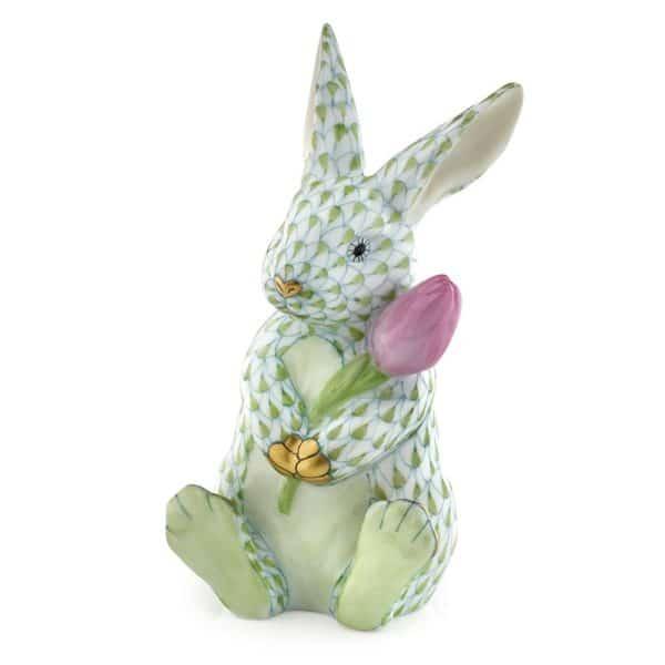 herend+blossom+bunny,+key+lime