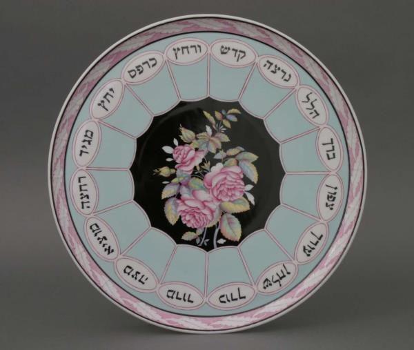 Herend-Seder-Plate-Masterpiece-Yellow-00439-0-00-SP1033