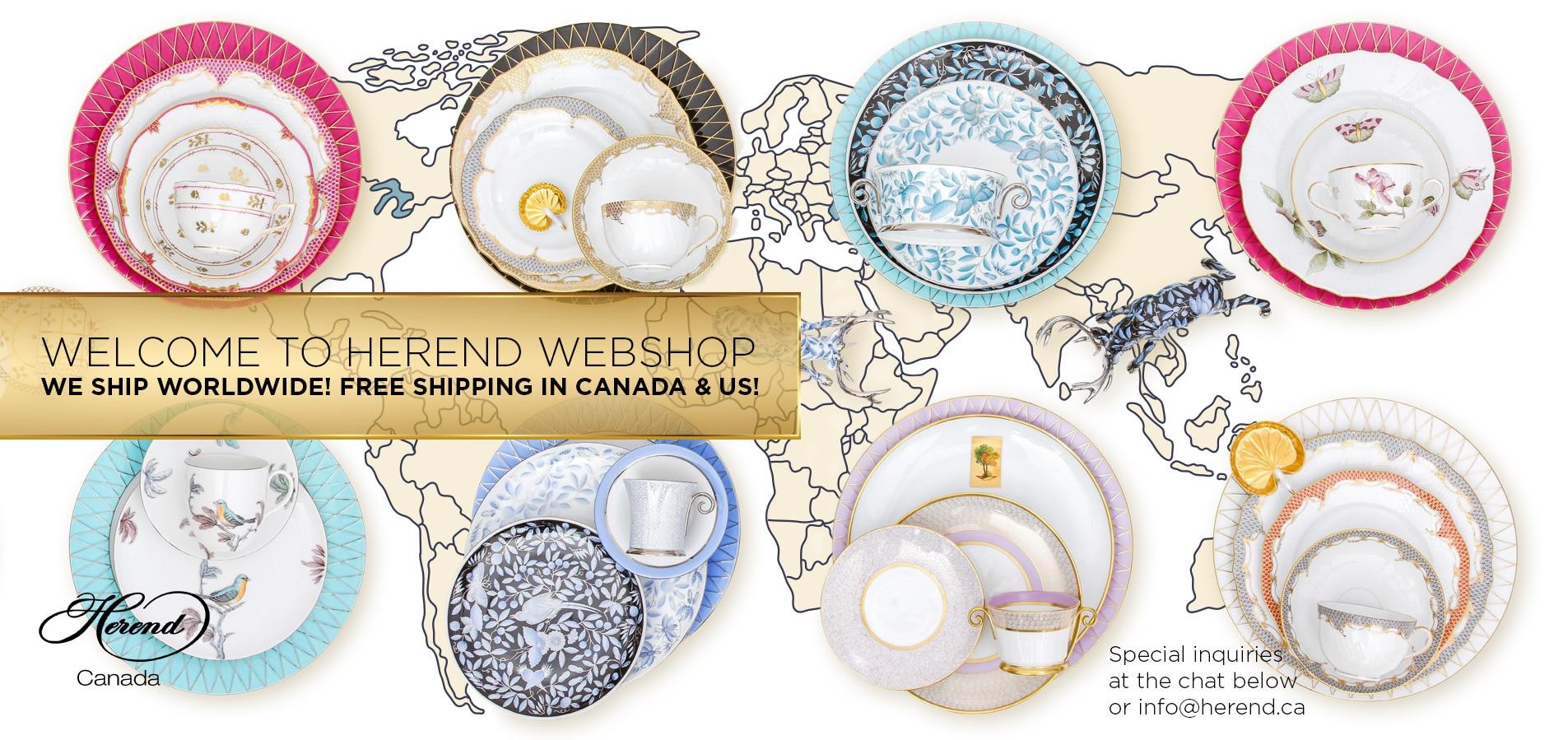 Herend-Webshop-We-Ship-Dinnerware-Worldwide