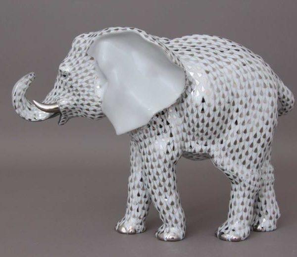 Herend-Elephant-Figurine-05214000PTVH