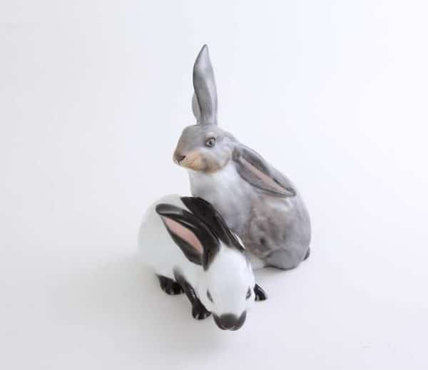 Herend-Figurine-Rabbit-Pair-Glazed-Natural05269000CD