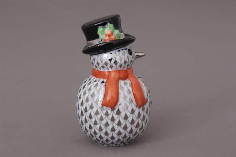 Herend-Christmas-Snowman-Figurine05290000PTVH