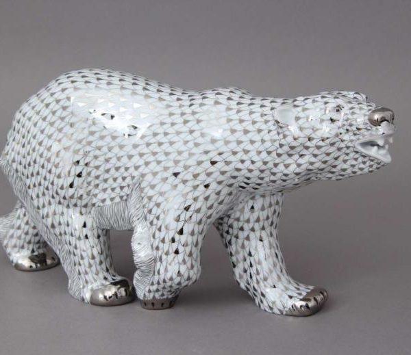 Herend-Porcelain-Animal-Figurine-Polar-Bear-05299000PTVH
