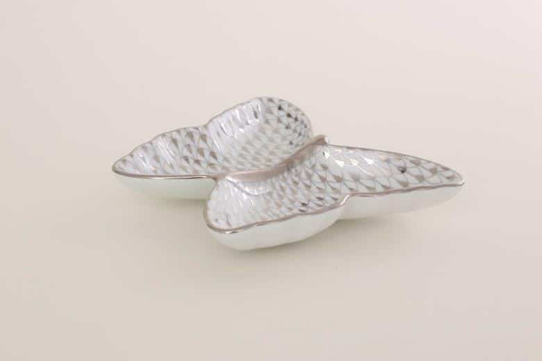 Herend-Butterfly-Dish-Fishnet-Platinum-2