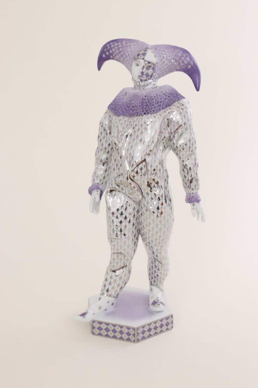 Herend-Carnival-Man-Fishnet-Platinum15002000PTVH small