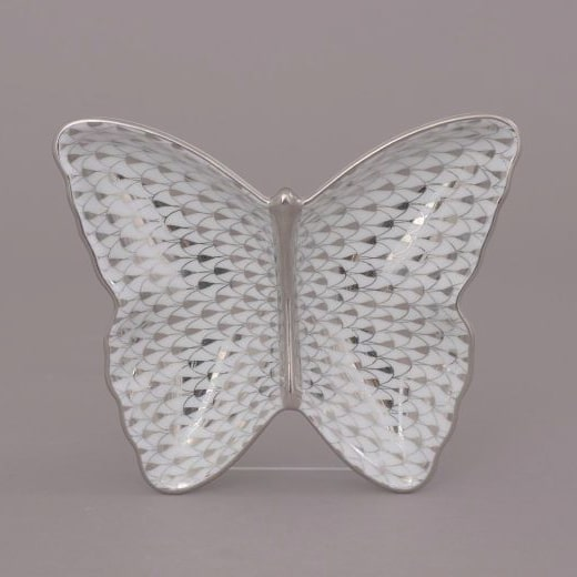 Herend-Butterfly-Dish-Fishnet-Platinum-1
