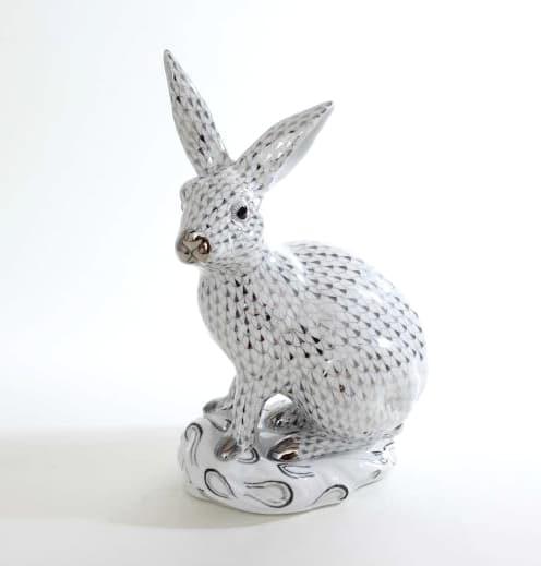 Herend-Large-Bunny-Rabbit-Figurine-05334000PTVH