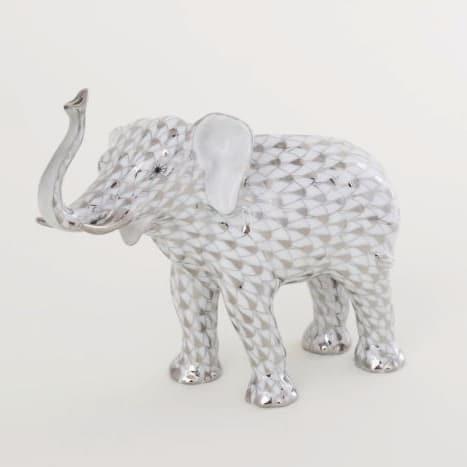 Herend-Lucky-Elephant-Fishnet-Platinum-15920000PTVH