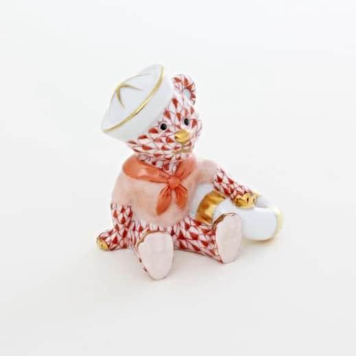 Herend-Sailor-Bear-Baby-Gift-Fisnet-Rust-16054000VH