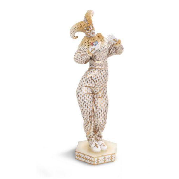 15006VHOR-Carnival-Figurine-In-Mask