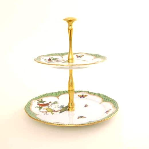 Herend-Rothschild-Bird-Green-Edge-2-Tier-Fruit-Stand-00308092RO-EV