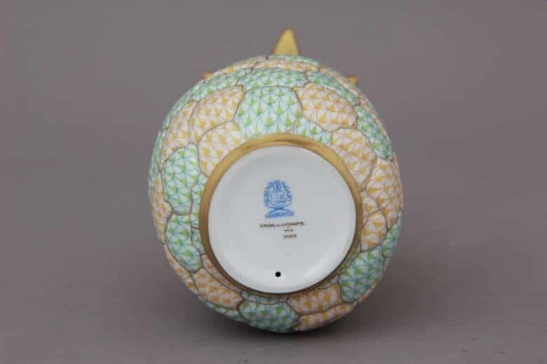 herend+reserve+pineapple+figurine