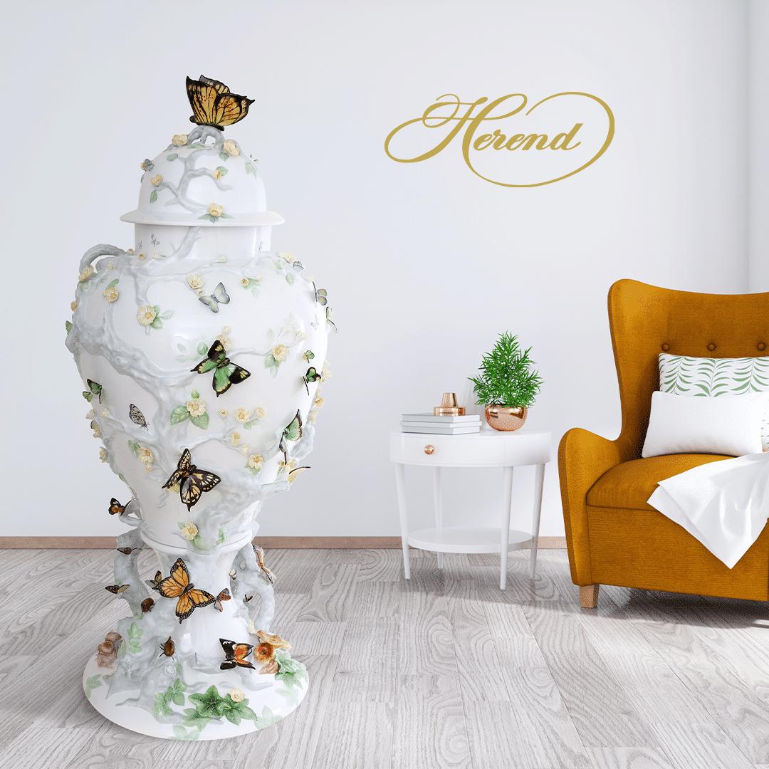 Herend-Birds-Vase