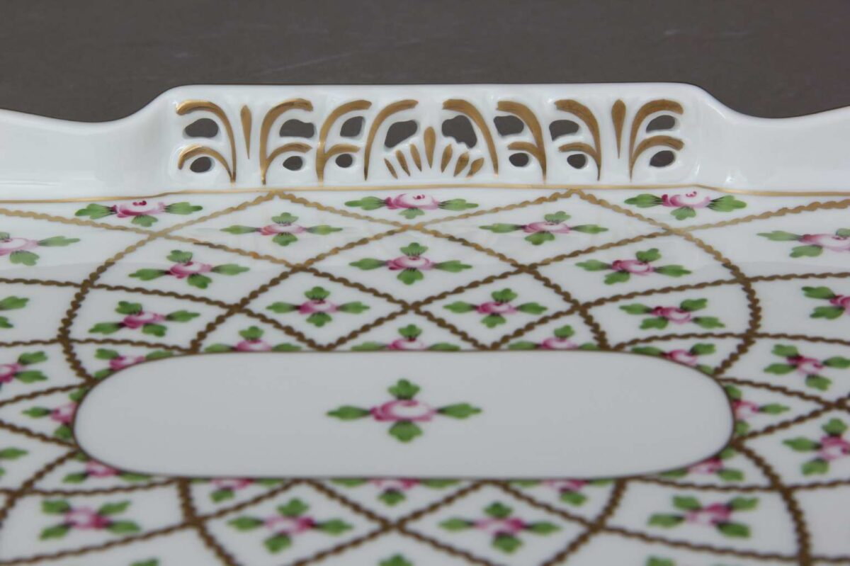 Herend-Open-Work-Tray-Sevres-Roses-07490-0-00 SPROG-1
