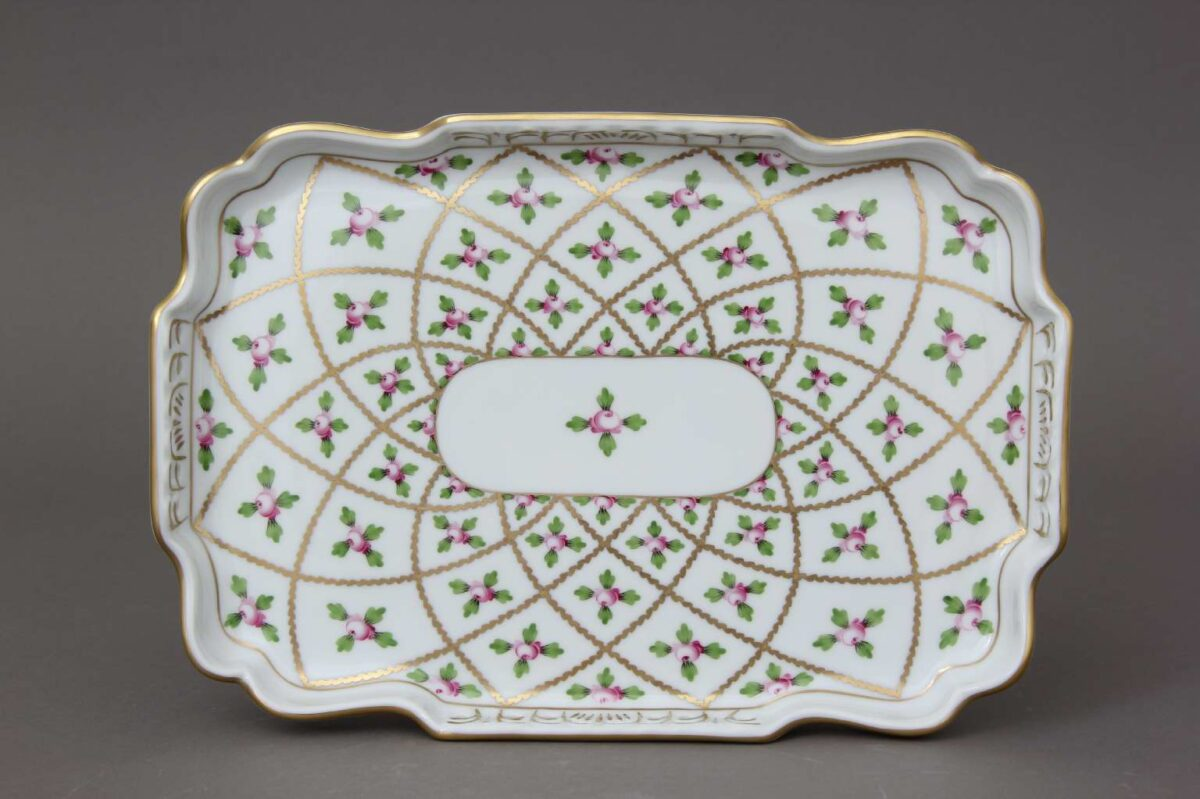 Herend-Open-Work-Tray-Sevres-Roses-07490-0-00 SPROG