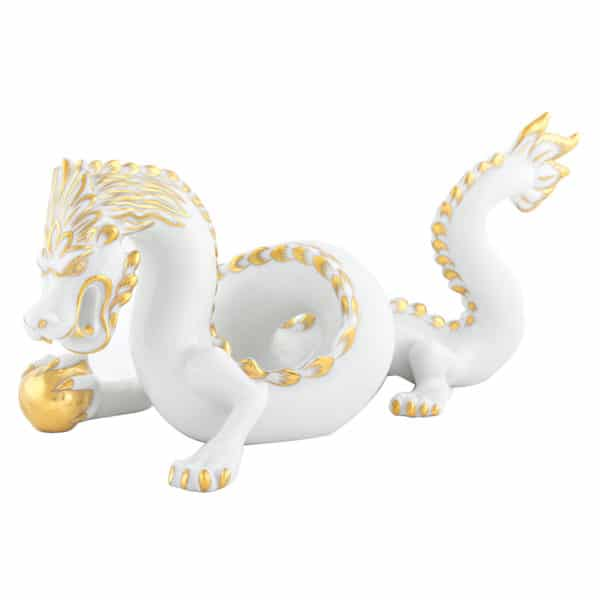 Herend-Dragon-Figurine-White-Gold-A-OR--15601-0-00